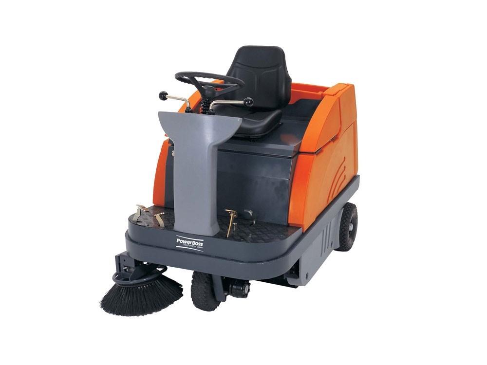 Industrial floor sweepers bing images for Concrete floor sweeper